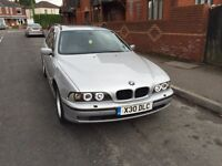 BMW e39 530 diesel 2001 year with private plate