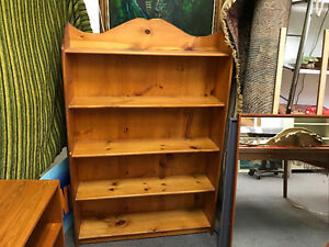 Bookcases solid pine