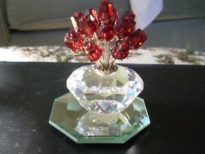 "Swarovski Crystal Figurine- "" The Vase of Roses "" Kitchener / Waterloo Kitchener Area image 7"