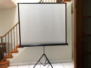 Portable Projector Screens with and without stand