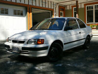 1995 Toyota Tercel DX Sedan