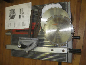"""9"""" Craftsmen Table Saw and Blades"""