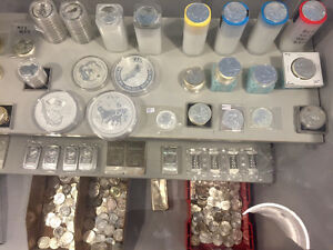 Wide Selection of Gold / Silver Coins / Bars for sale!