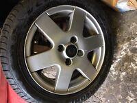 Polo 6N2 Tdi Se alloy wheel 185 55 14