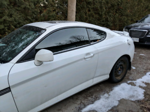 Tiburon GT -v6 remote start winter tires (front damaged)