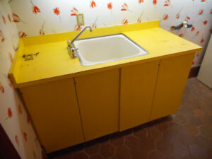 Laundry Sink Cabinet