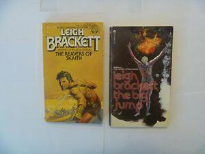 LEIGH BRACKETT Paperbacks - 2 to choose from