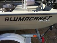 River Boat - Outboard Jet Prop
