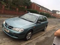 Nissan Almera 12 month mot *70.000 miles * 2 owners from new