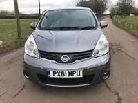 Nissan Note 1.6 auto 2011 MY Tekna FULL SERVICE HISTORY,LOW MILEAGE