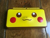 Limited Edition pikachu pokemon 2DS XL console