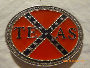 Texas Confedrate Belt Buckle