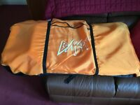 Two Surfing Body Boards in Carry Bag