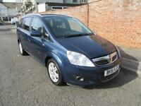 2011 VAUXHALL ZAFIRA 1.7TD DESIGN MANUAL DIESEL 7 SEATS FOR RENT