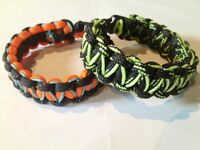 Assorted Handcrafted Paracord Bracelets