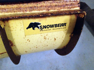 Solid SnowBear Personal Snow Plow  SEE VIDEO
