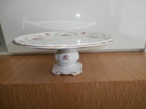 Royal Albert TRANQUILLITY Footed China Cake Stand Plate.England.