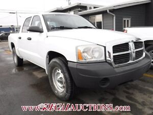 2007 DODGE DAKOTA  4D CREW CAB 2WD