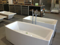 BATH TUBS- FREE STANDING ,SHOWERS,TOILETS ,FAUCETS ON SALE!!!!