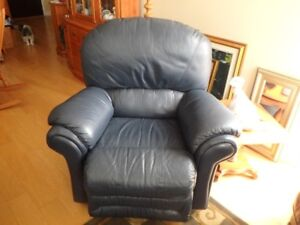 All Leather Recliner-phone for appointment