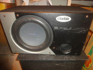 Rockford Fosgate 12 inch sub in box with port - used