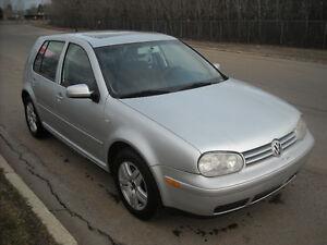 2001 Volkswagen Golf Sedan Auto 2L