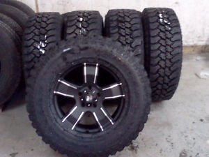 275/65/R18 Rims and Tires Set of 5 Jeep Truck SUV Wrangler.