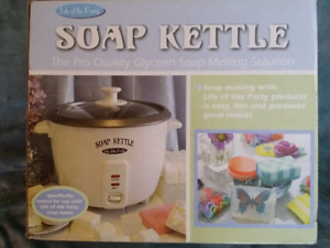 Soap Kettle- not used!