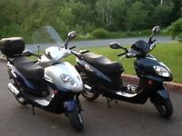 Pair of Volano scooters