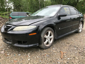 2005 Mazda Mazda6  ** FOR PARTS ** INSIDE & OUTSIDE ***