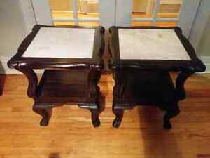 End tables / tables d'appoint