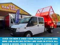 TIPPER CREWCAB CAGED TIPPER LOW MLS 1 OWNER