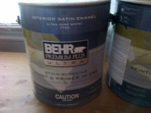 New and Used Behr Paints