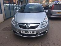Vauxhall Corsa 1.0i 12v ( 65ps ) ecoFLEX S 3 door - 2010 60-reg - 10 MONTHS MOT