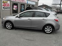2010 MAZDA 3 GX HATCHBACK..LOADED..A MUST SEE CAR...SALE PRICED