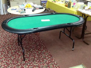 3x6 foot poker table