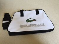 Brand new authentic Lacoste laptop/messenger bag with tags