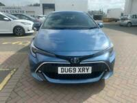 2019 Toyota Corolla VVT-I EXCEL Hatchback PETROL/ELECTRIC Manual