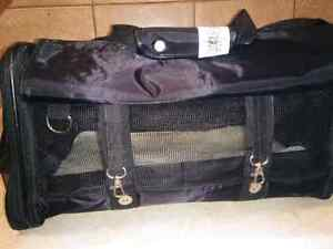 Black Pet Carrier Bag