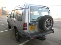 LAND ROVER DISCOVERY PETROL V8 AUTOMATIC SILVER