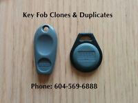 Duplicate Condo Fob Access Keys, Key Cards, Fob Keys