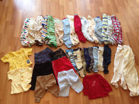Small Bag of Baby Boy Clothes 0-3 Months