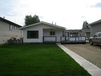 Two Bedroom House For Rent In Peace River Availible Immediately