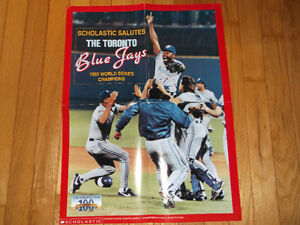 Poster: 1992 Toronto Blue Jays World Series Championship