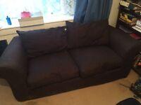 Homebase chocolate sofa bed