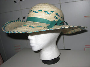 GORGEOUS LITE-WEIGHT SUMMER STRAW HAT for M'LADY