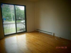 Appartement semi-meublé à 2 grandes chambres /Semi-fur