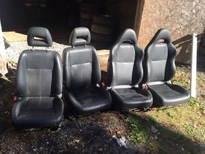 Acura rsx and Acura el leather seats