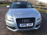 2010 AUDI A3 2.0 TDI S LINE SPECIAL EDITION 2D AUTO 138 BHP DIESEL
