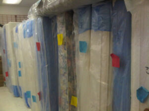 BRAND NEW MATTRESSES, BOX SPRINGS, BED FRAMES AND PILLOWS